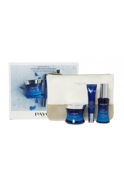 payot blue techni liss concentre darkova kazeta pro zeny pletove serum 30 ml denni pletova pece 50 ml ocni gel blue techni liss regard 15 ml