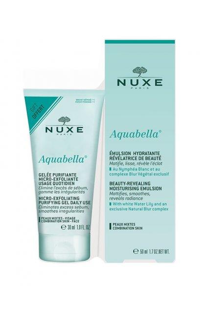 Nuxe Aquabella Beauty Revealing Set Darkova sada pro peči o plet