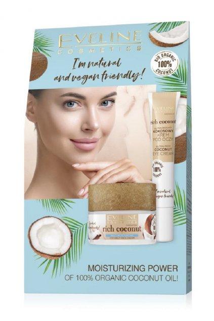 eveline cosmetics rich coconut darkova sada