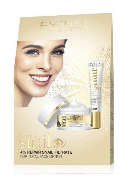 eveline cosmetics royal snail darkova sada