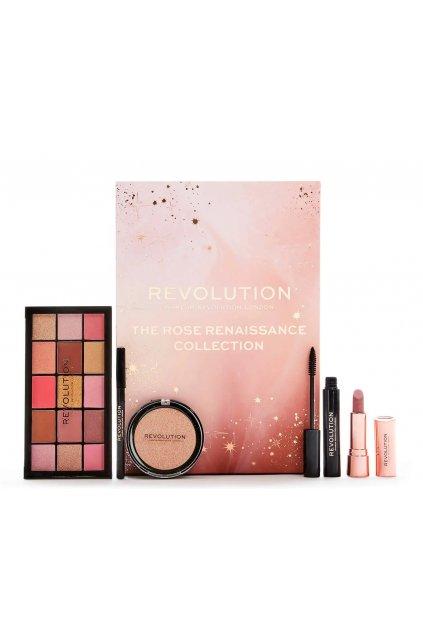 makeup Revolution Rose Renaissance Collection darkova sada 3