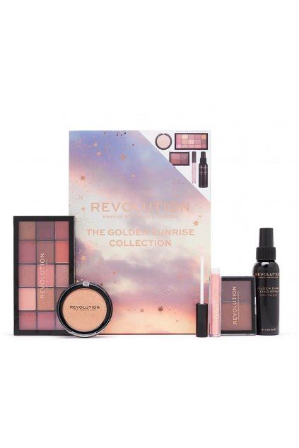makeup Revolution the golden sunrise Collection darkova sada