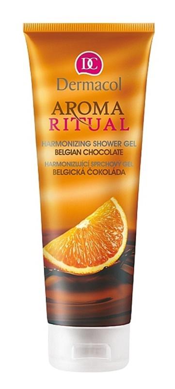 Dermacol Aroma Ritual Belgická čokoláda s pomerančem harmonizující sprchový gel 250 ml