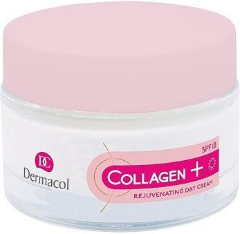 Dermacol Intenzivní omlazující denní krém Collagen Plus SPF 10 (Intensive Rejuvenating Day Cream) 50 ml