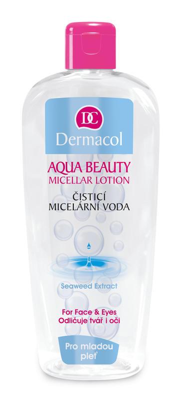 Dermacol Aqua Beauty čistící micelární voda 400 ml