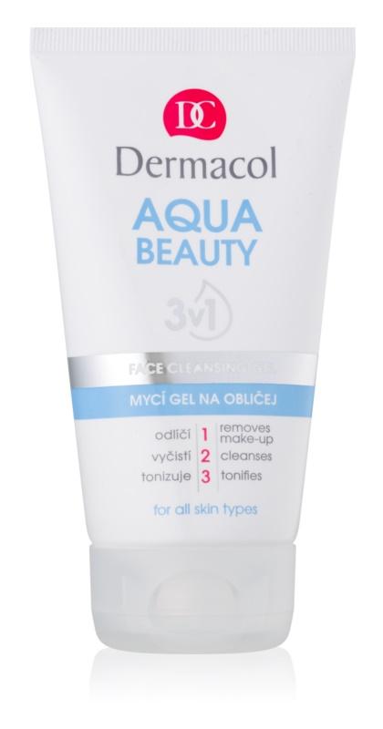 Dermacol Aqua Beauty mycí gel na obličej 3v1 150 ml