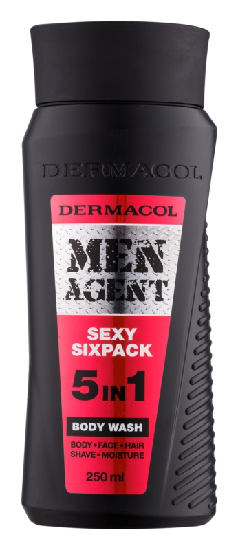 Dermacol Men Agent 5v1 Sexy Sixpack sprchový gel pro muže 250 ml