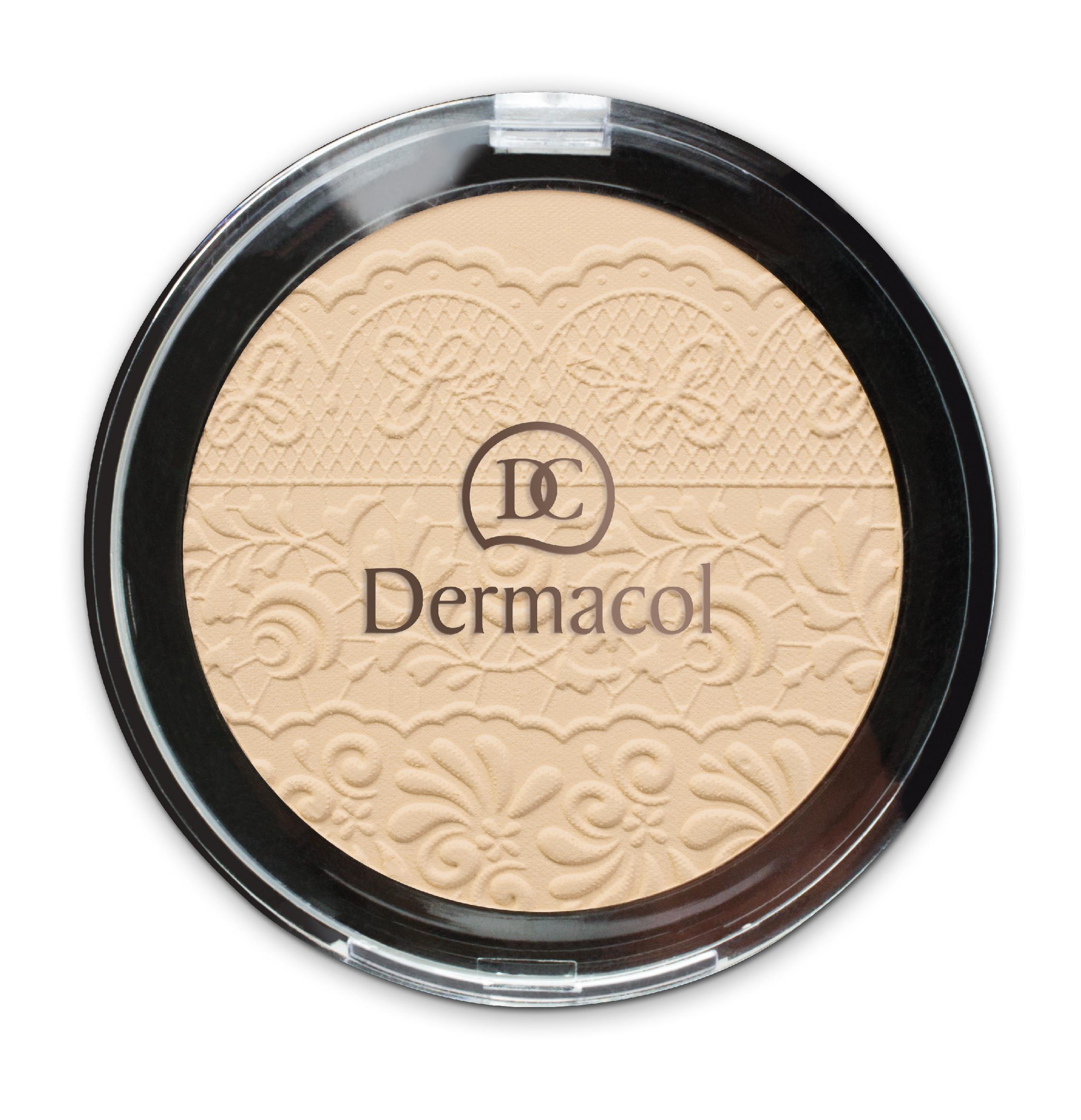 Levně Dermacol Compact Powder Odstín: č. 3 8 g