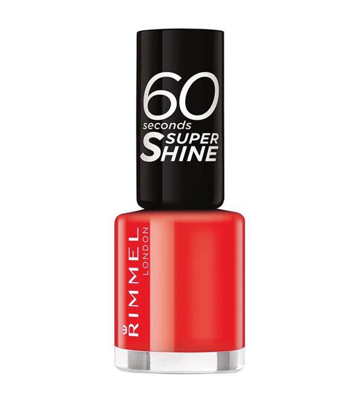 Rimmel 60 Seconds Super Shine Odstín: č. 300 Glaston Berry 8 ml