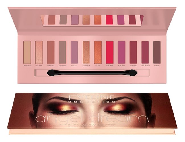 Eveline Cosmetics Angel Dream paleta očních stínu 12 g