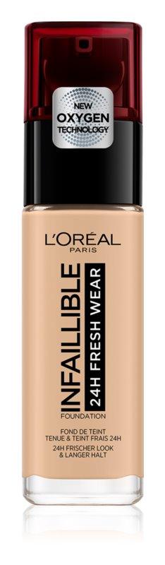 Levně L'Oréal Paris Infallible dlouhotrvající tekutý make-up Odstín: 220 Sable Sand 30 ml