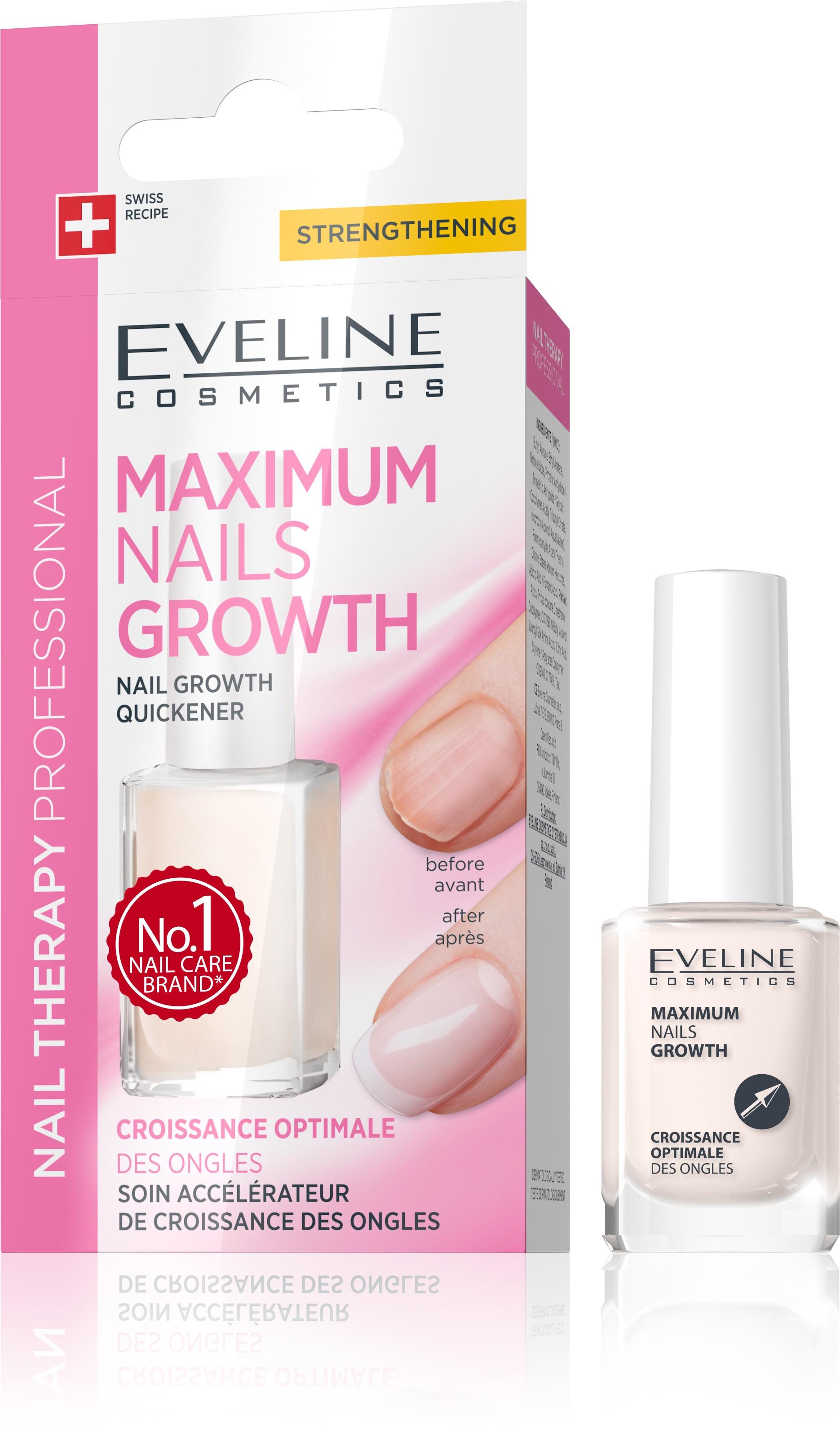 Eveline Cosmetics Kondicionér Na Nehty Maximum Nails Growth 12 ml