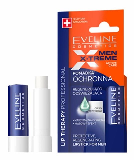Eveline Cosmetics Men X treme pomáda na rty 4,5 g