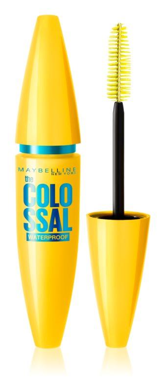 Maybelline The Colossal Řasenka Odstín: Voděodolná Black 10,7 ml