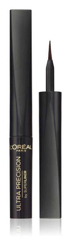 Levně L'Oréal Paris Superliner Tekuté oční linky Black 6 ml