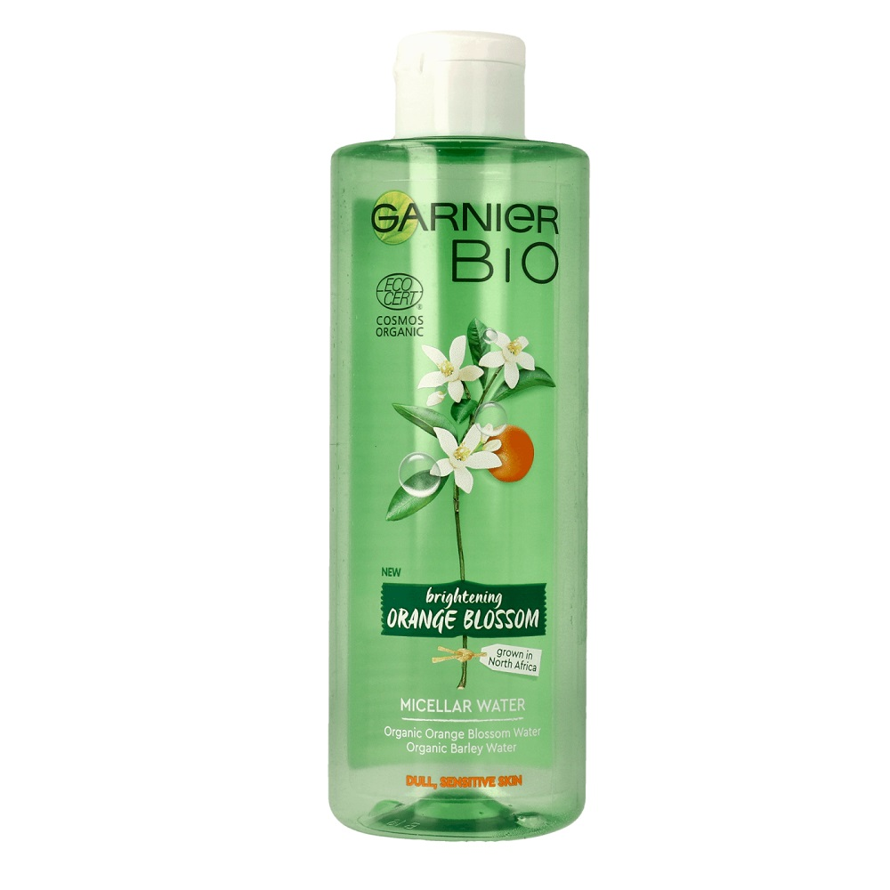 Garnier Bio Brightening Orange Blossom Micelární voda 400 ml