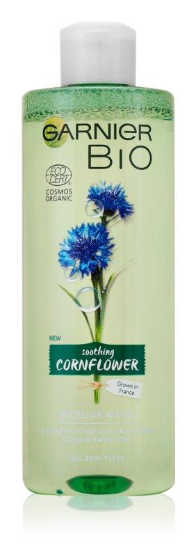 Garnier Bio Soothing Cornflower Micelární voda 400 ml