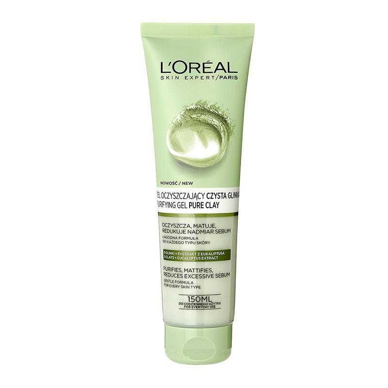 L'Oréal Paris Pure Clay Čistící matující gel 150 ml