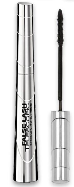 L'oreal Paris Telescopic False Lash Infinite Length Effect Fiber řasenka Magnetic Black 9 ml