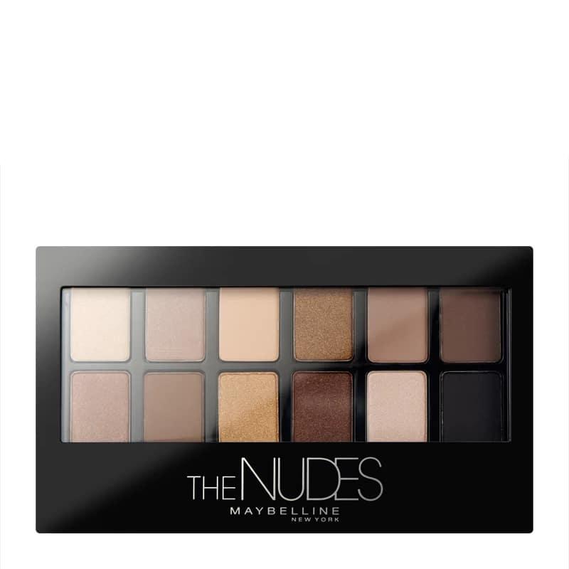 Maybelline The Nudes Paletka očních stínů 9,6 g