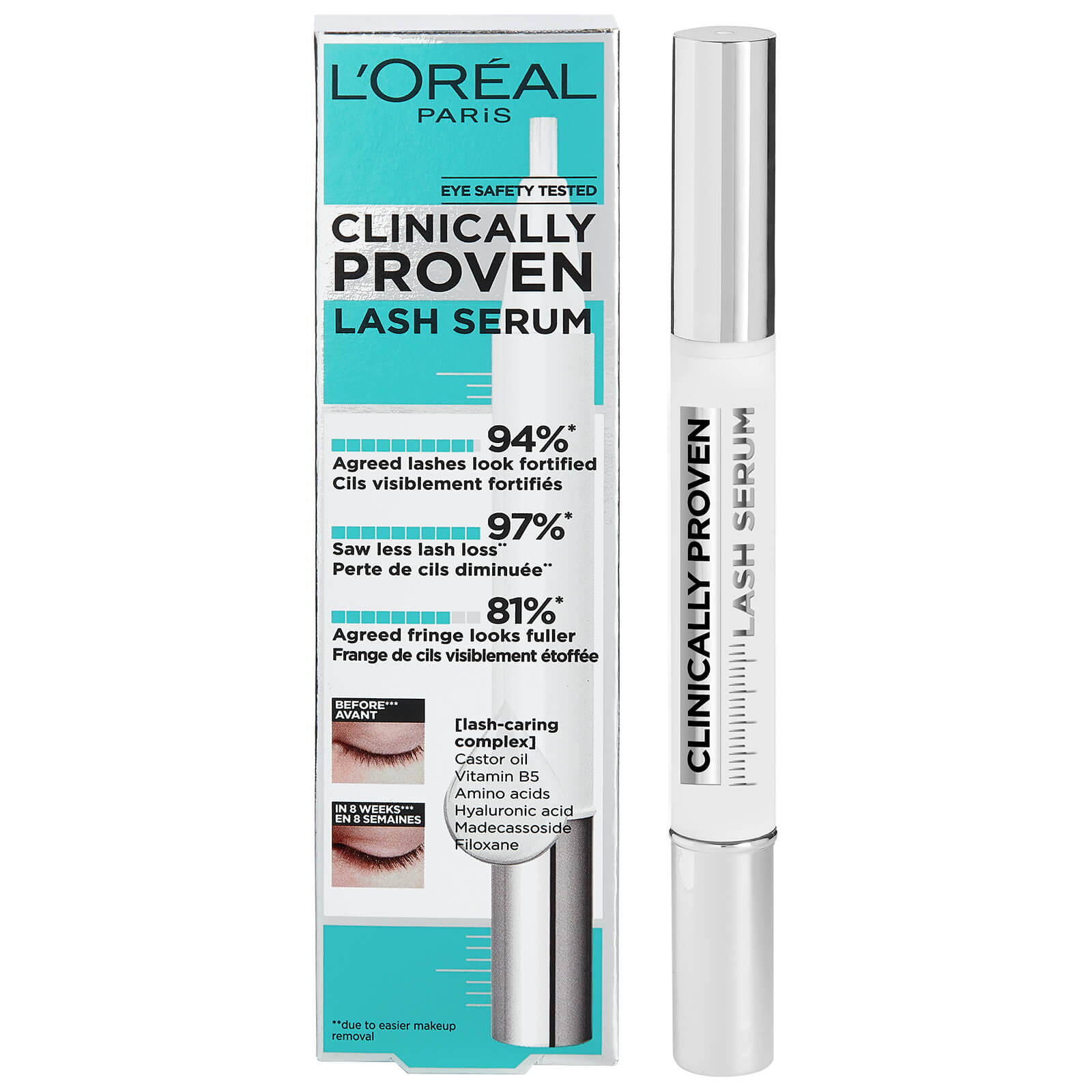 L'Oréal Paris Clinically Proven Výživové sérum na řasy 1,9g