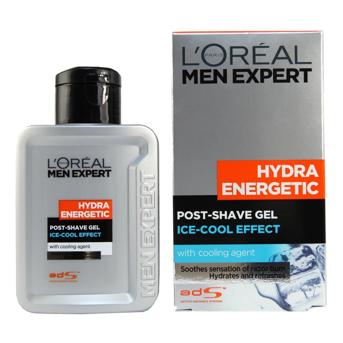 L'Oréal Paris Men Expert Hydra Energetic Hydratační gel po holení pro muže 100 ml