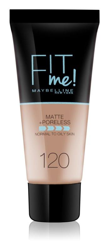 Maybelline Fit Me! Matující make-up pro normální a mastnou pleť Odstín: 120 Classic Ivory 30ml