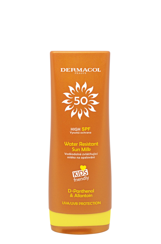 Dermacol Sun Water Resistant Sun Voděodolné mléko na opalování pro děti SPF 50 200 ml