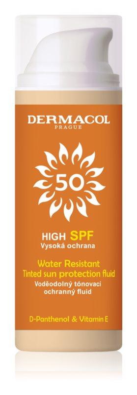 Dermacol Sun Resistant Voděodolný tónovací ochranný fluid SPF 50 50 ml