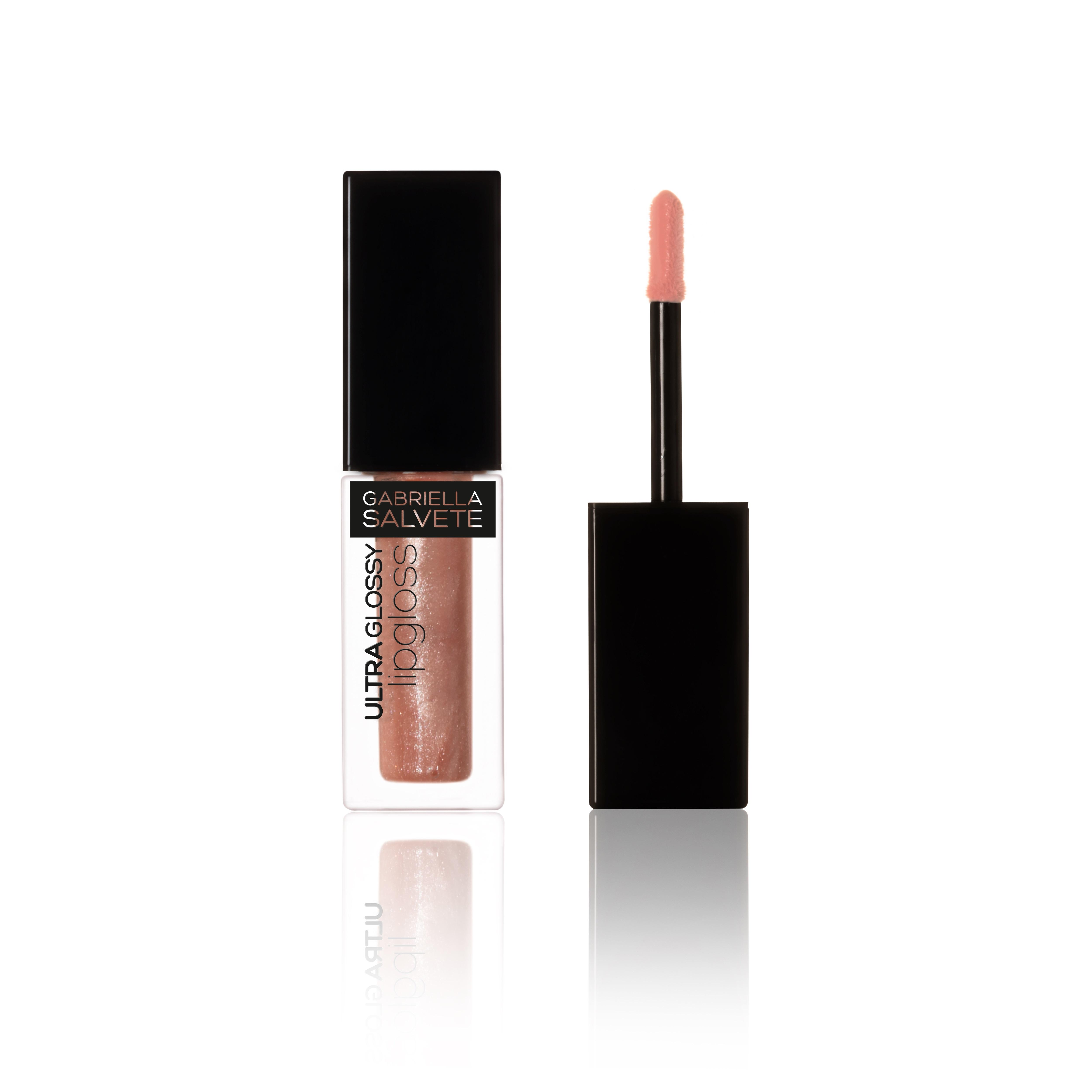 Gabriella Salvete Ultra Glossy Lipgloss Lesk na rty Odstín: 01 s třpytkami růžová 4 ml