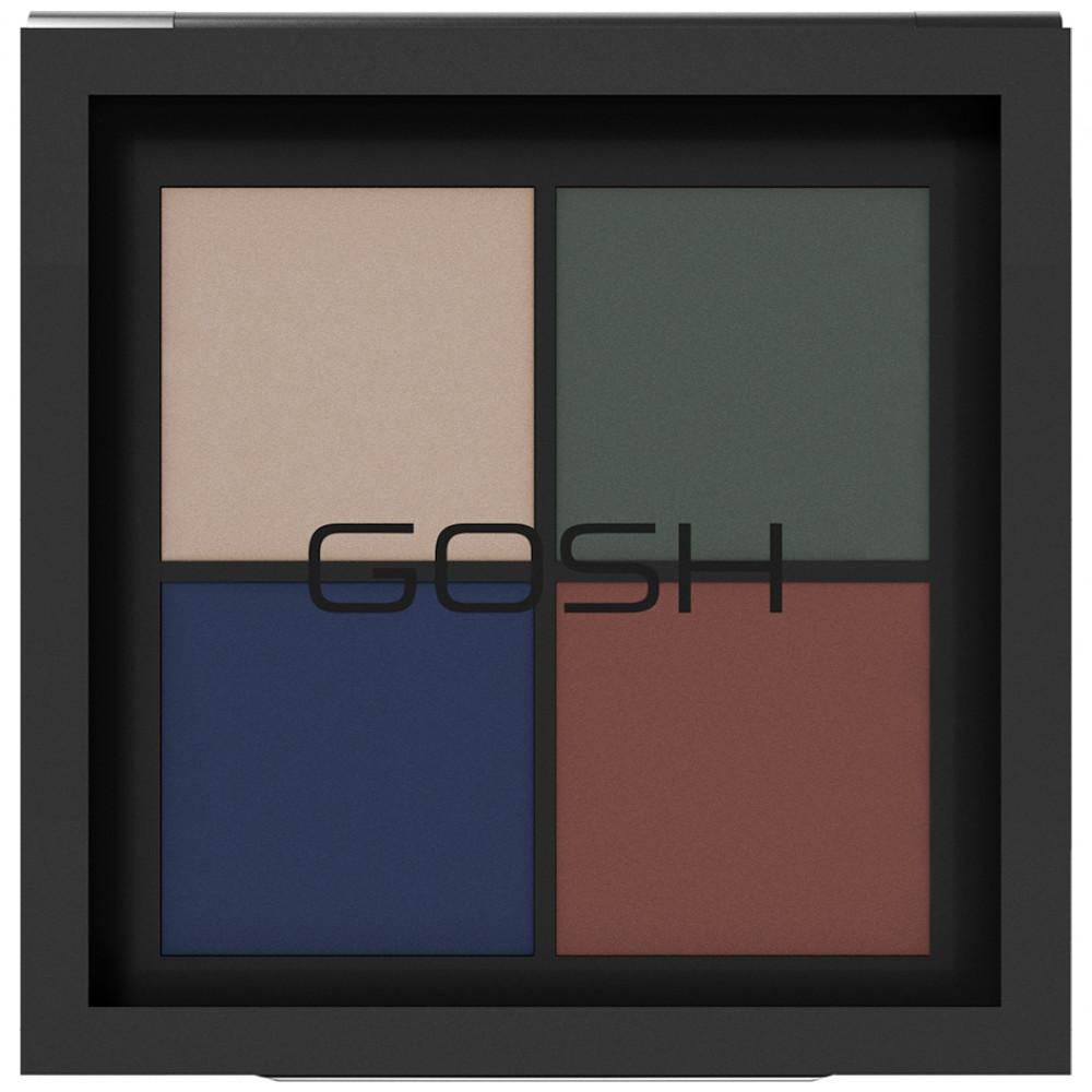 Levně Gosh Eye Xpression Paletka očních stínu Odstín: 003 Urban Nature 10 g