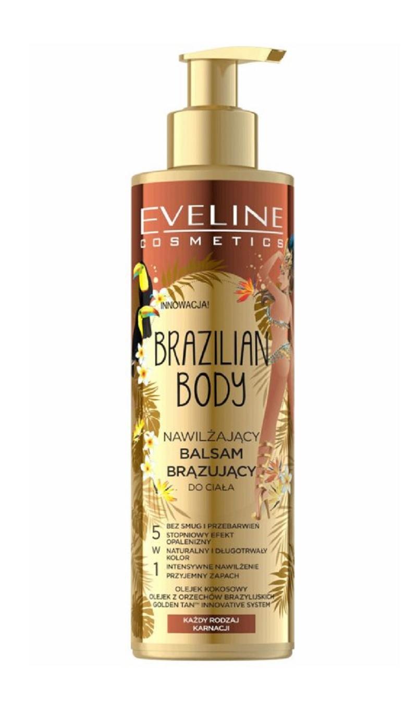 Eveline Cosmetics Brazilian Body Hydratační samoopalovací balzám na tělo 200ml