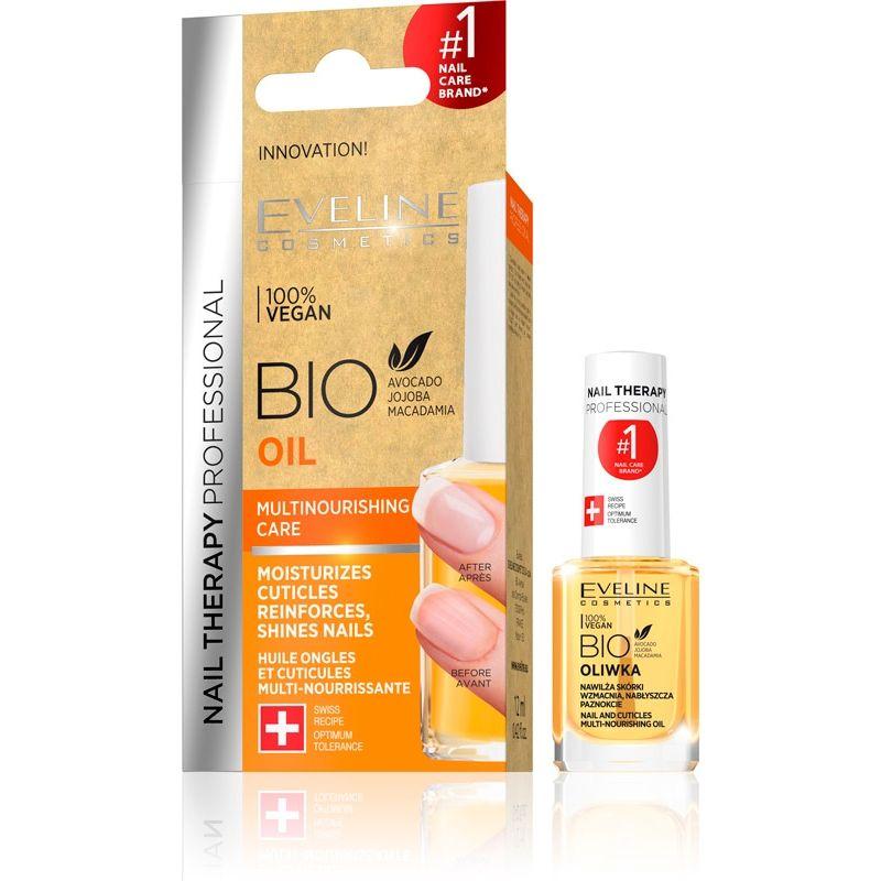 Eveline Cosmetics Nail Therapy Výživný olej na nehty a kůžičku 12 ml