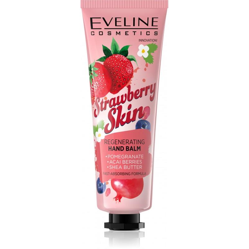 Eveline Cosmetics Strawberry Skin Regenerační balzám na ruce 50 ml