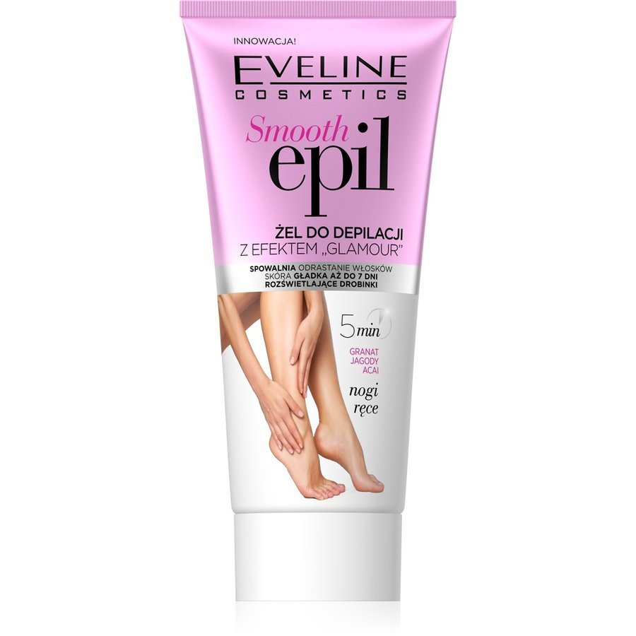 Eveline Cosmetics Smooth Epil Glamour Depilatory Cream Depilační gel s glamour efektem 175 ml