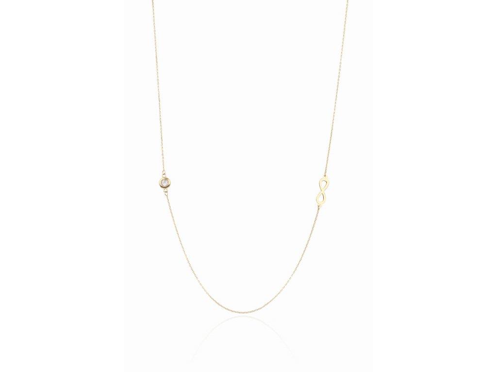 Zlatý náhrdelník LLV74-GN013