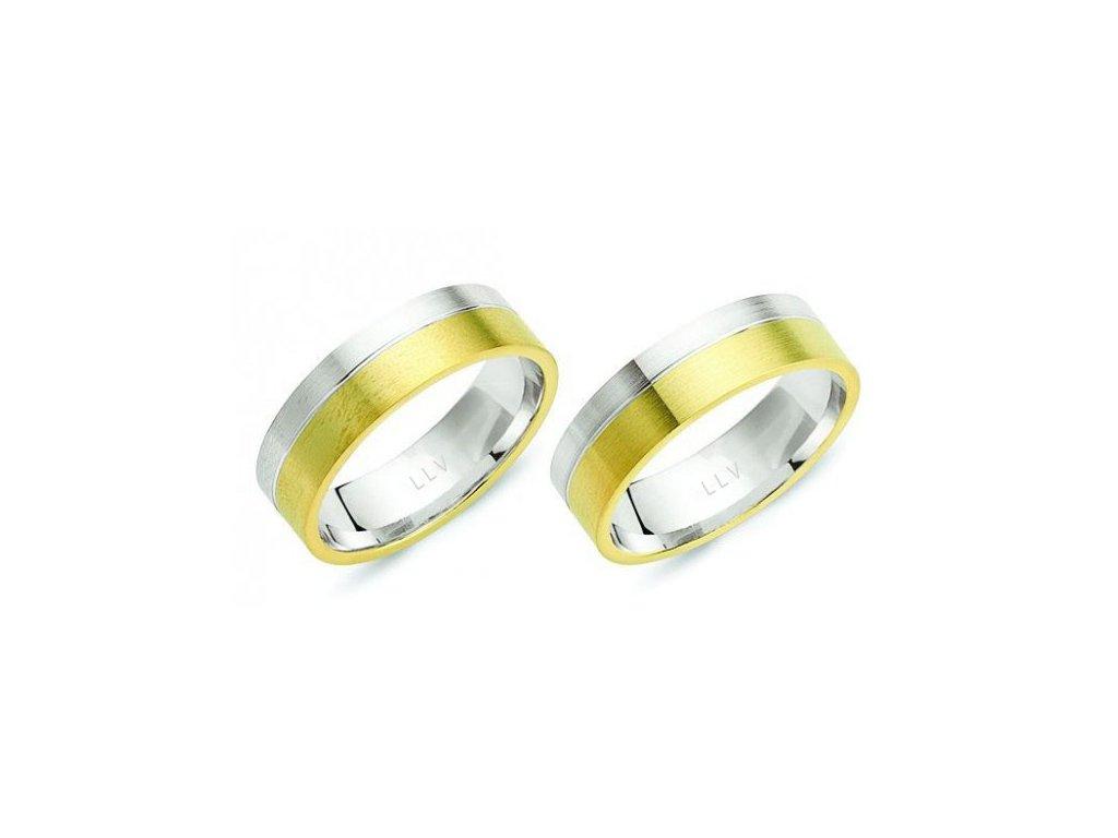 Snubní prsteny F1826C (Barva zlata Žlutá)