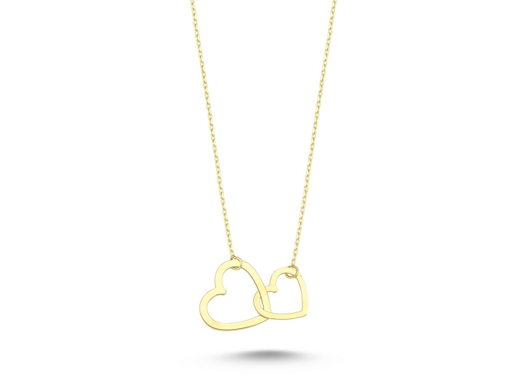 Zlatý náhrdelník LLV53-GN018Y