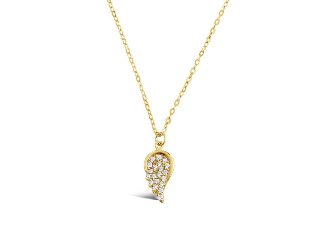 Zlatý náhrdelník LLV22-GN034Y