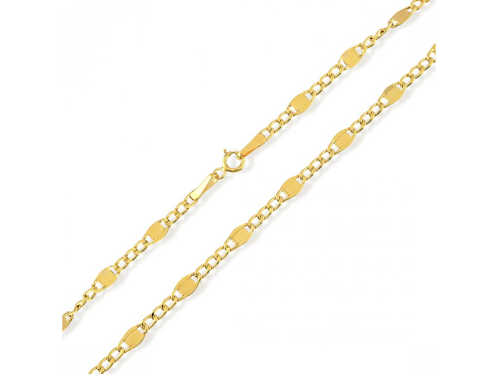 Zlatý řetízek LLV31-GCH043