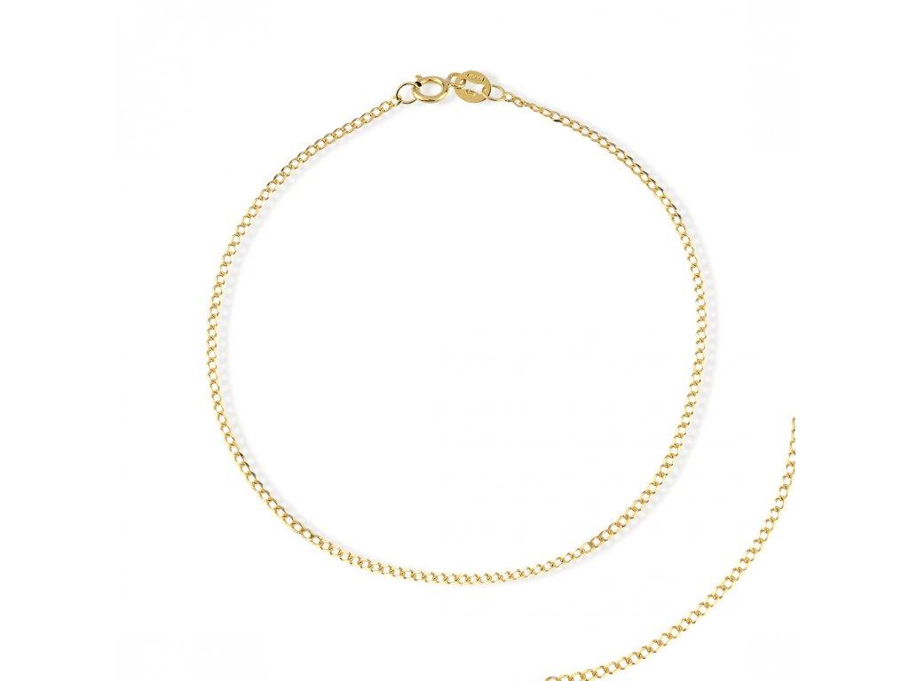 Zlatý náramek LLV31-GB011