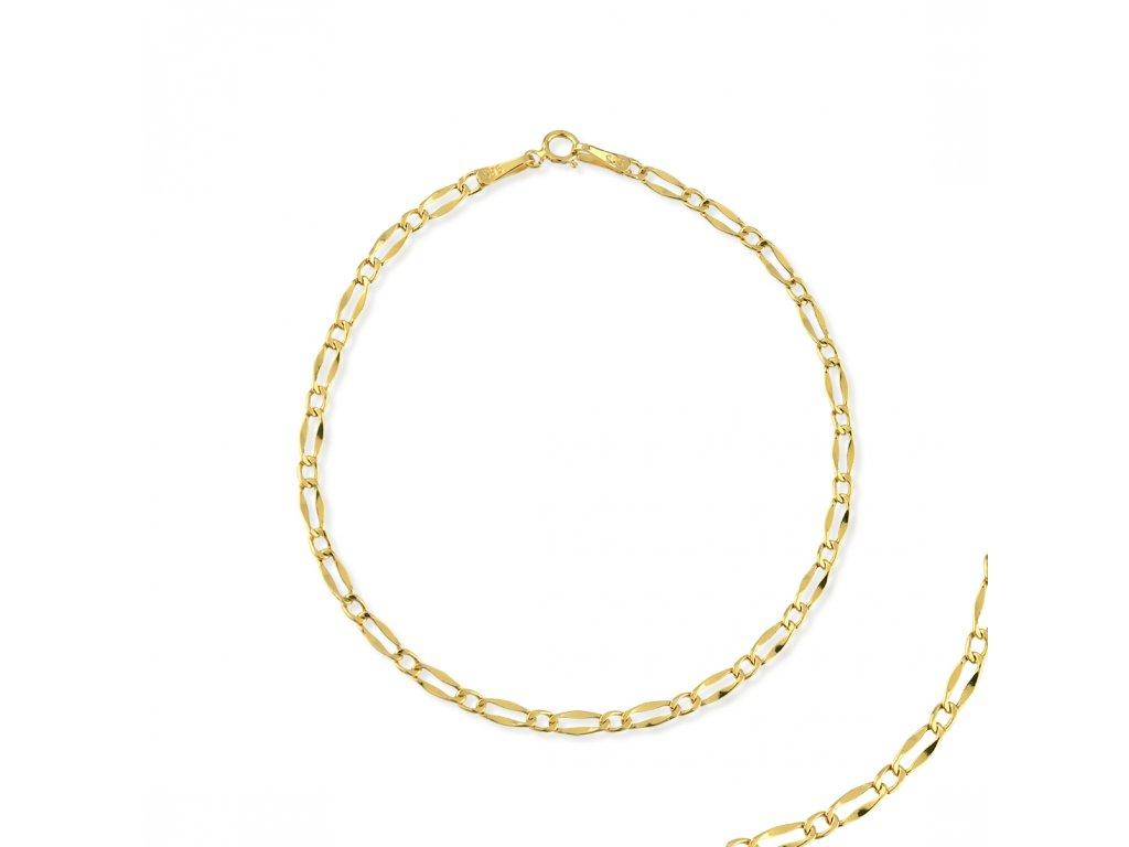 Zlatý náramek LLV31-GB024