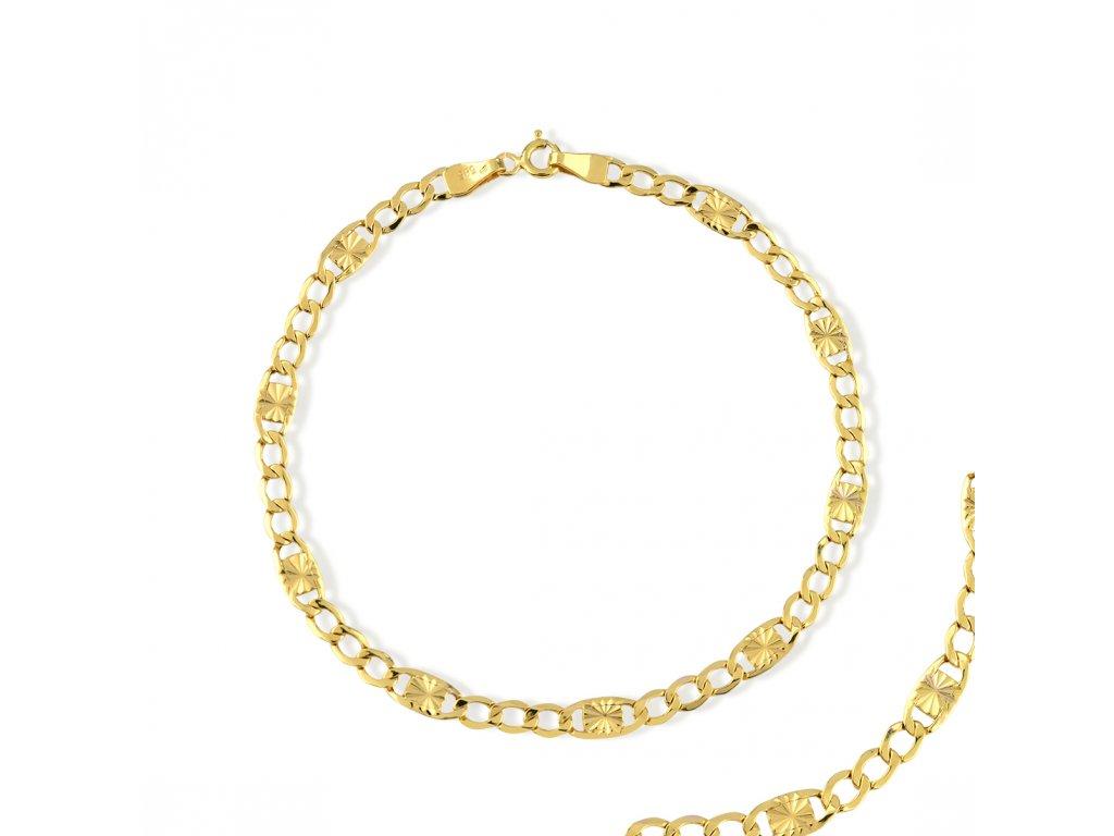 Zlatý náramek LLV31-GB017