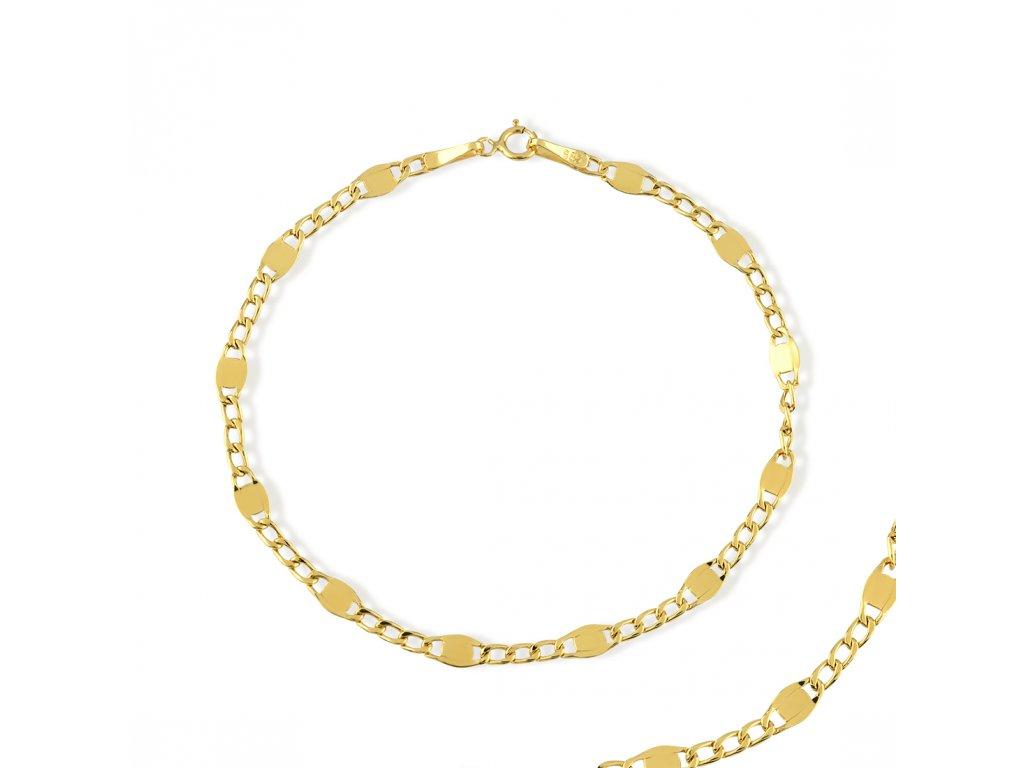 Zlatý náramek LLV31-GB014