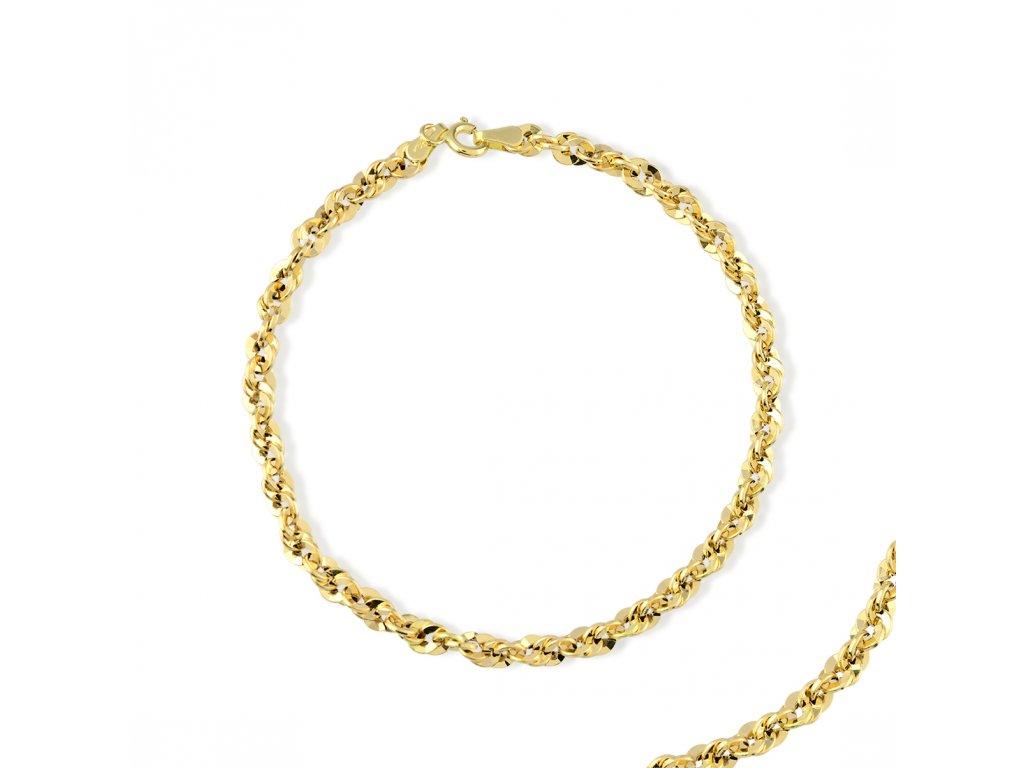 Zlatý náramek LLV31-GB023