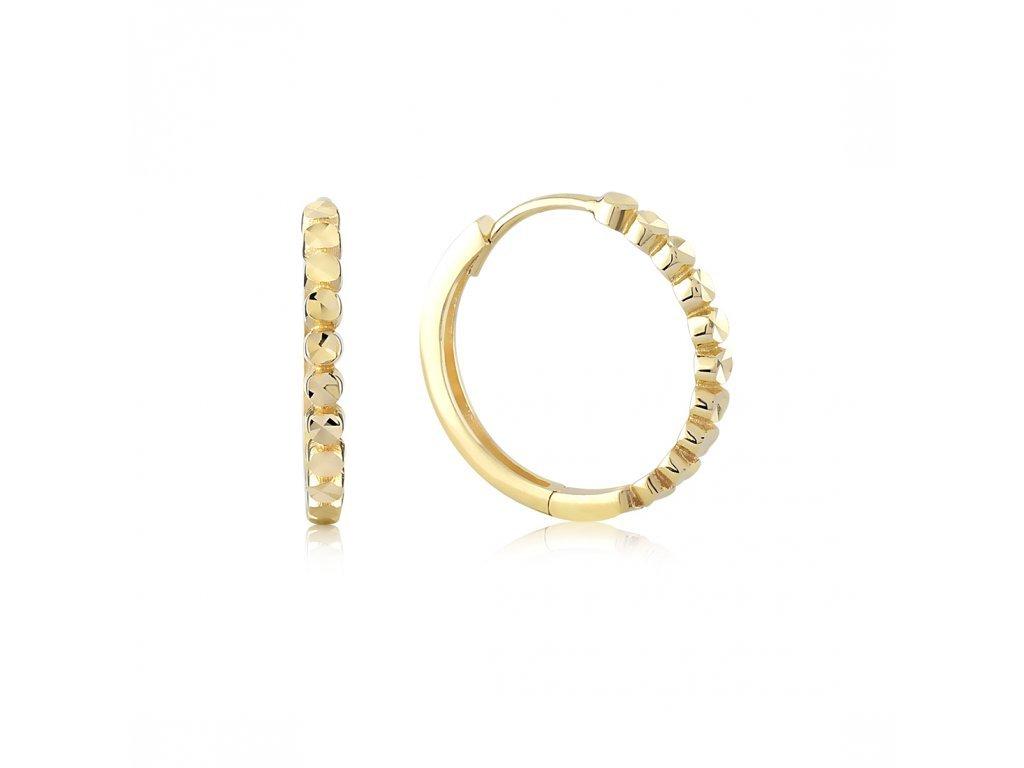Zlaté náušnice LLV06-GER089