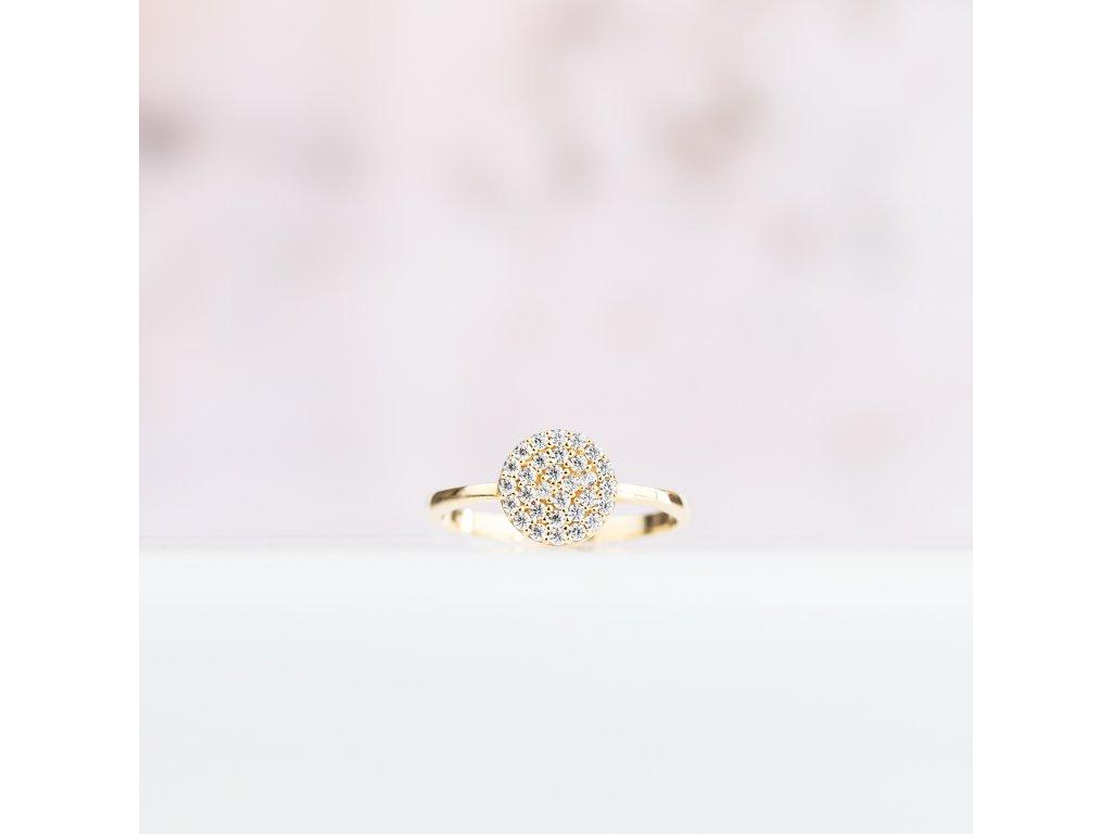 Zlatý prsten LLV11-GR001Y
