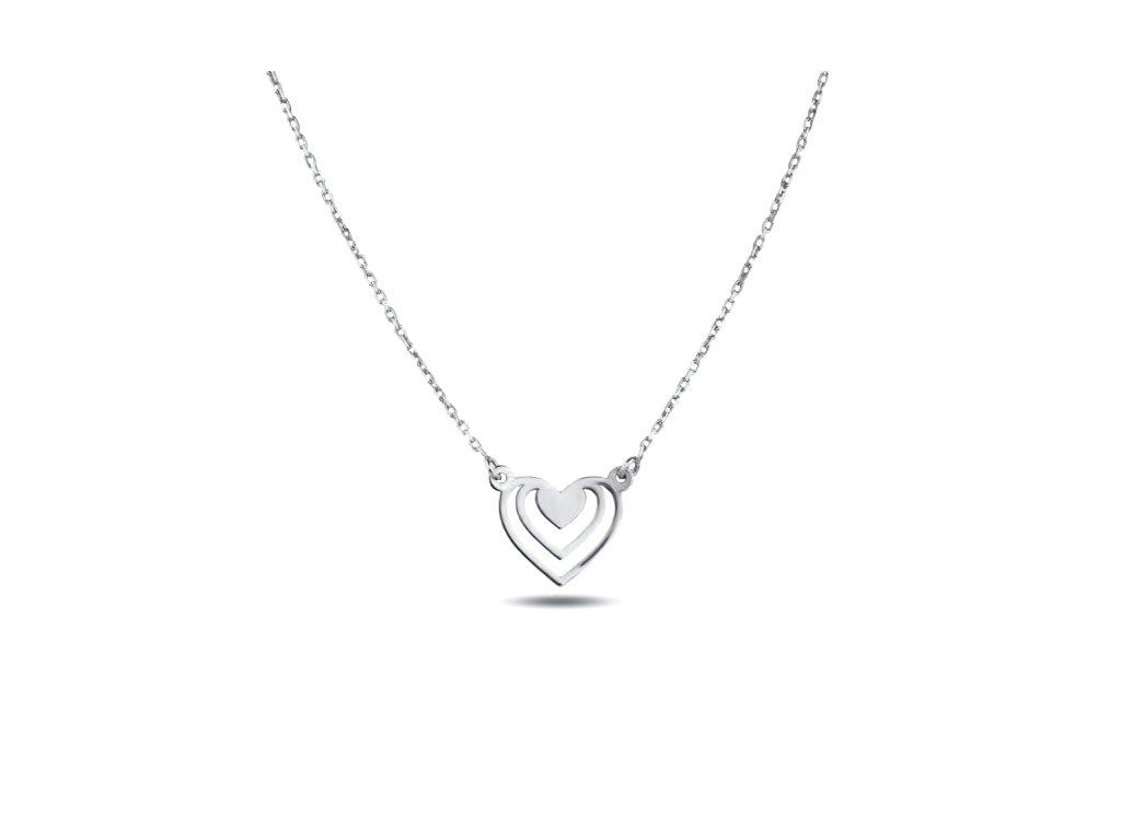 Zlatý náhrdelník LLV11-GN015W