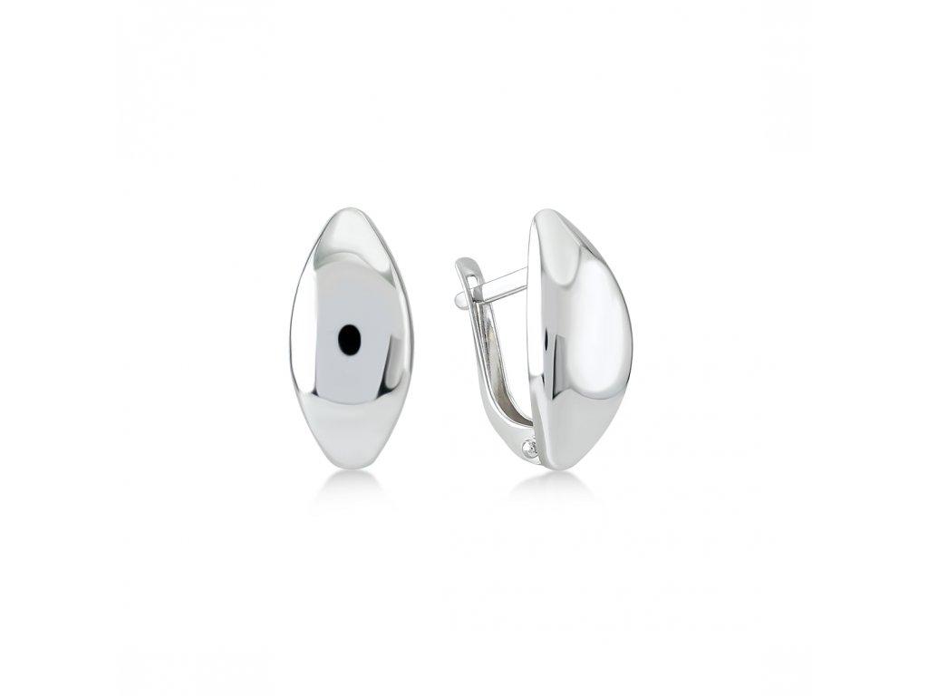 Stříbrné náušnice  LLV06-SER039