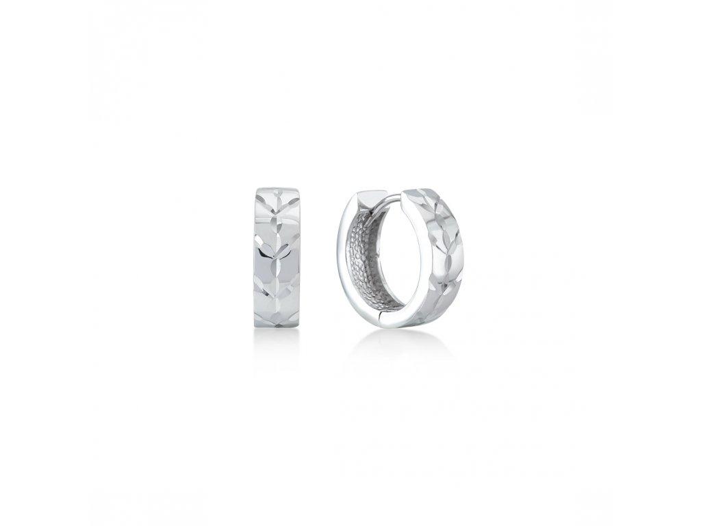 Stříbrné náušnice  LLV06-SER044